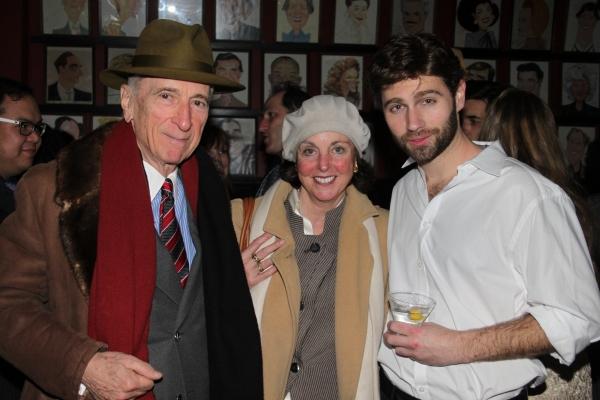 Gay Talese, Nan Talese and John Buffalo Mailer