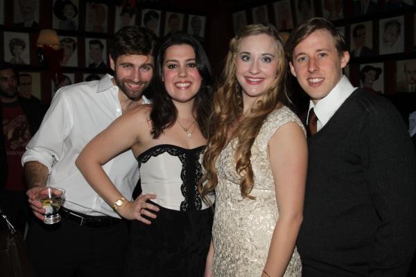 John Buffalo Mailer, Katharine Luckinbill, Emily Bridges and Rob O'Hare