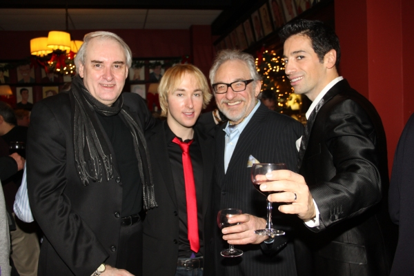 Paul Alexander, Producer Michael Alden, Timothy Jerome and Michel Altieri