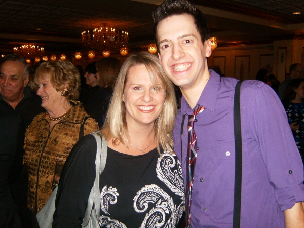 Roberta Duchak, Jackson Evans at Drury Lane's SPAMALOT Opening Night