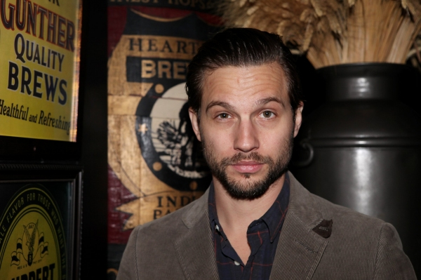 Logan Marshall-Green at A SMALL FIRE - Opening Night Party