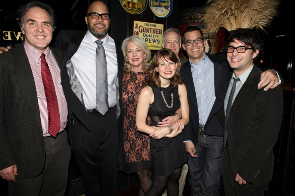 Photo Coverage: A SMALL FIRE - Opening Night Party