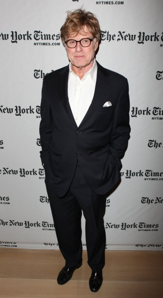 Robert Redford at Robert Redford Visits Times Talks