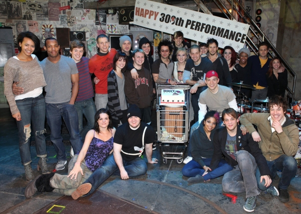 Billy Joe Armstrong (Green Day) with the Ensemble Cast