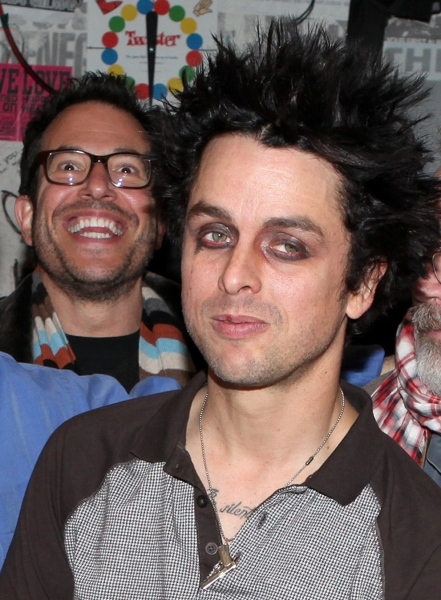 Billy Joe Armstrong (Green Day) with director Michael Mayer