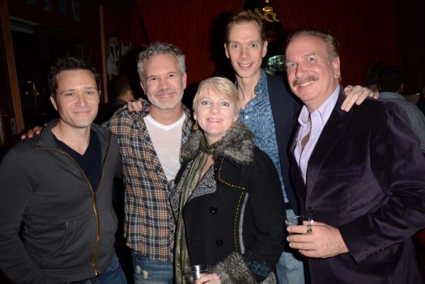 Seamus Dever, Gerald McCullouch, Alison Arngrim, Doug Jones and Mark Bego
