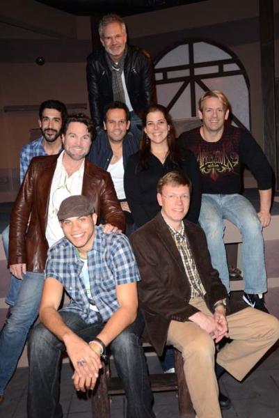 Gerald McCullouch, Nik Roybal, Rick Sparks, Rene Ruiz, Angelica Estevez (Prod. Stage  Photo