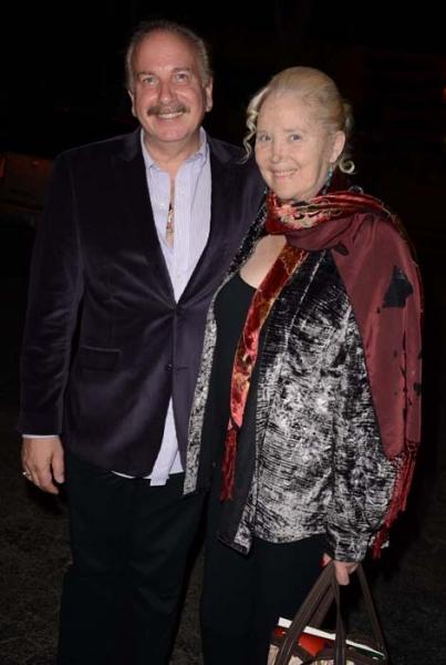 Mark Bego and Sally Kirkland Photo