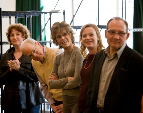 Photo Flash: Fonda Begins Rehearsals for 33 VARIATIONS
