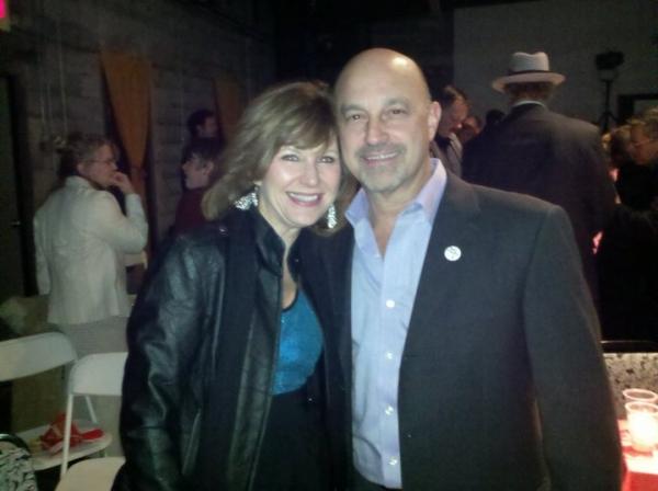 Lora Westlund and Ed Amatrudo