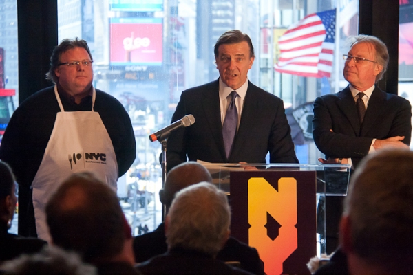 Photo Coverage: Fierstein et al. Announce 2011 NYC Tourism Boost Plan