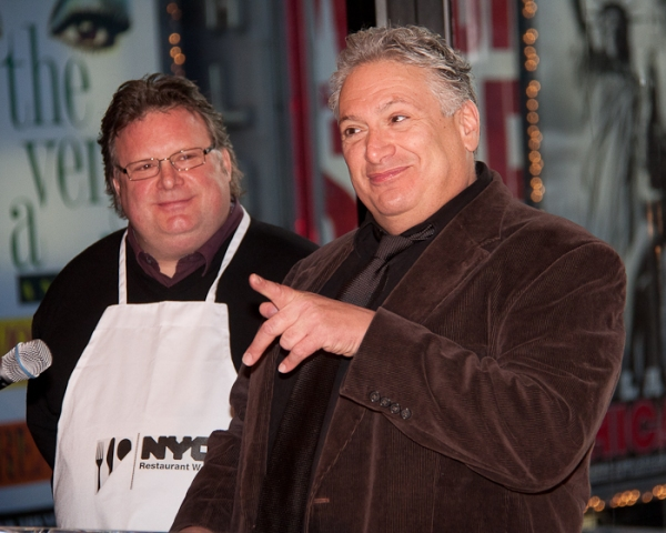 David Burke and Harvey Fierstein