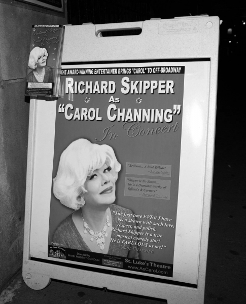 Photo Coverage: Richard Skipper as 'Carol Channing' in Performance