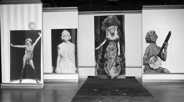 Photos: Richard Skipper as 'Carol Channing' in Performance