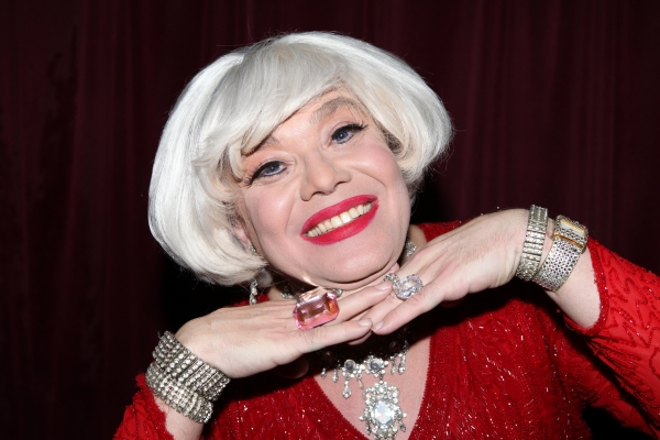 Photo Coverage: Backstage with Richard Skipper as 'Carol Channing'