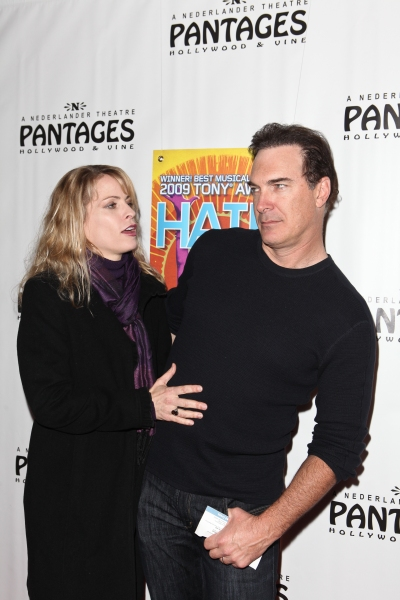 Patrick Warburton and Guest at Vereen, Ferguson & More Attend HAIR! Opening In LA