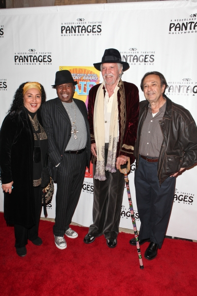 Ben Vereen, Original HAIR Broadway Producer Michael Butler, HAIR Original Broadway Ben Lautman and Guest