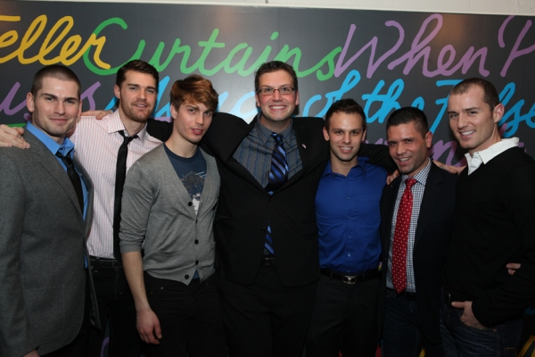 Provincetown Naked Boys Singing!  Alex Ringler, Kevin Spencer, Matthew Ludwinski, Tom D'Angora, Ryan Obermeier, David Bryant, Steve Riggle
