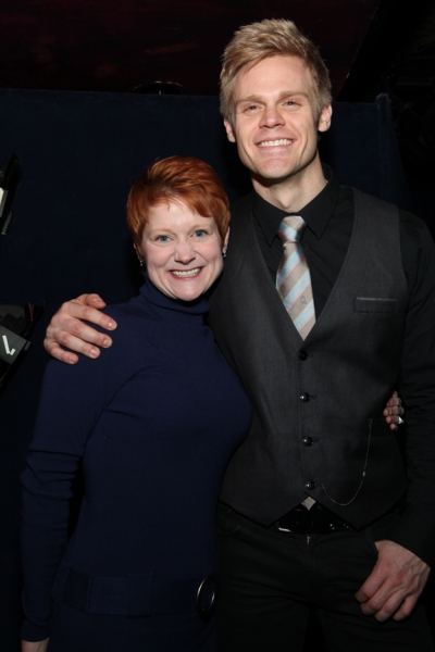 Amy Griffin and Tommy Walker at NEWSICAL: The Musical Opens Off-Broadway