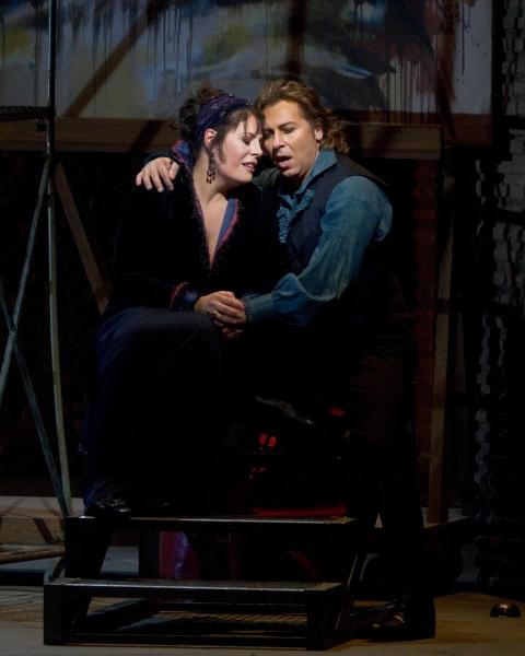 Sondra Radvanovsky,  Roberto Alagna at TOSCA at the Metropolitan Opera