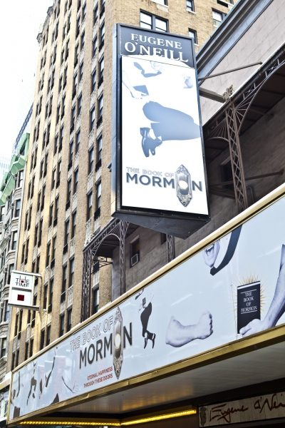 Photo Coverage: UP ON THE MARQUEE: THE BOOK OF MORMON!