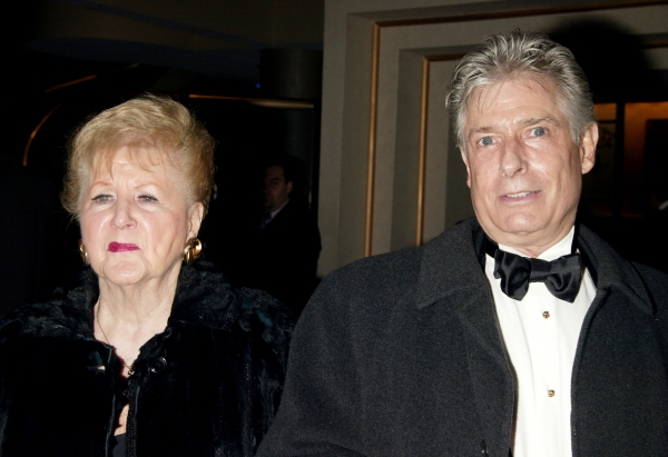 Margaret Whiting & Jack Wrangler attending LaCage Aux Folles - 12/9/2004
