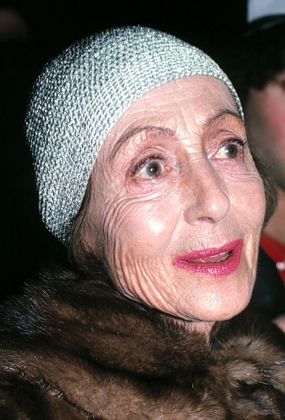 Luise Rainer in New York City - 2/16/83