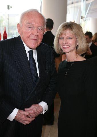 Henry Segerstrom (L) and Sandy Segerstrom Daniels