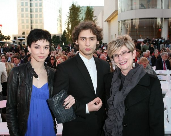 Natalia Osipova, Ivan Vasiliev and Center Executive VP Judy Morr