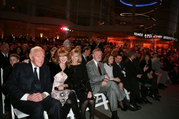 Founding Chairman Henry Segerstrom, Elizabeth Segerstrom and Sandy Segerstrom Daniels