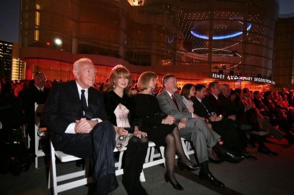 Henry Segerstrom, Elizabeth Segerstrom, Sandy Segerstrom Daniels and John Daniels  Photo