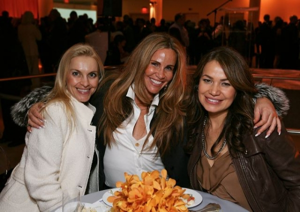 Parvina Glidewell, Tawny Kitaen and Kristina Steiner