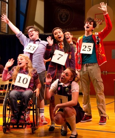 Photo Flash: Paper Mill Playhouse's ...SPELLING BEE