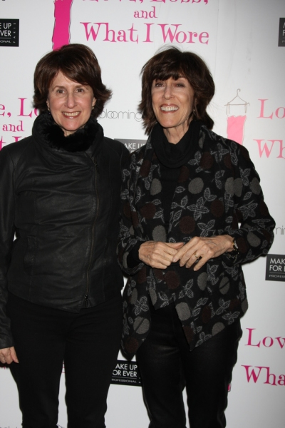 Delia Ephron and Nora Ephron at LOVE, LOSS Welcomes Blonsky, Bledel et al. & Celebrates 500 Performances Off-Broadway