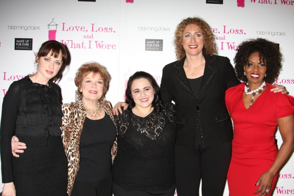 Photo Flash: LOVE, LOSS Welcomes Blonsky, Bledel et al. & Celebrates 500 Performances Off-Broadway