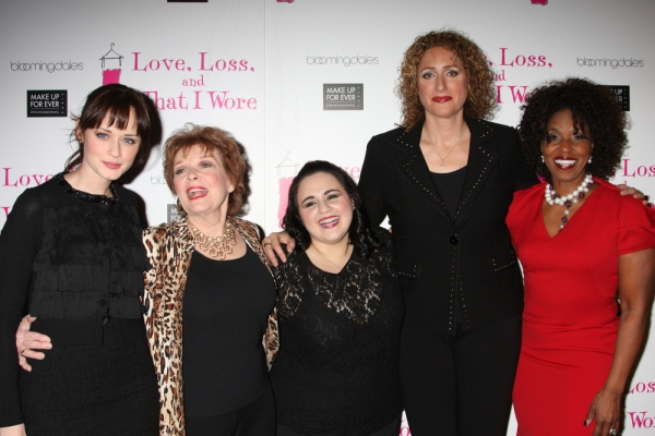 Photo Flash: LOVE, LOSS Welcomes Blonsky, Bledel et al. & Celebrates 500 Performances Off-Broadway