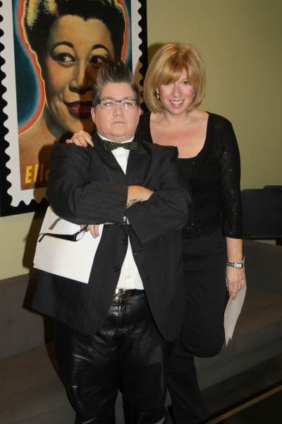 Lea DeLaria and Daisy Prince