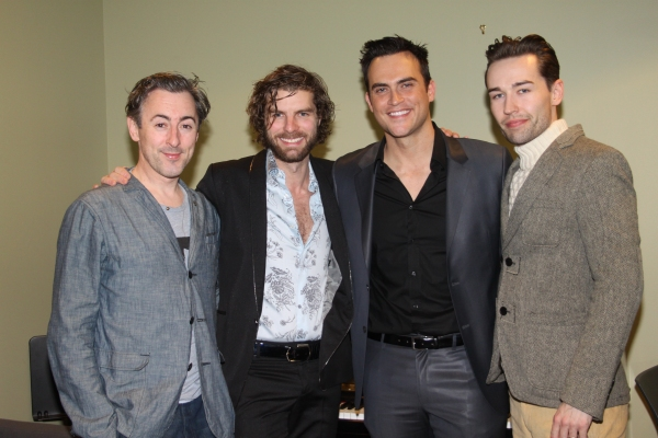 Alan Cumming, Lance Horne, Cheyenne Jackson and Paul Spicer