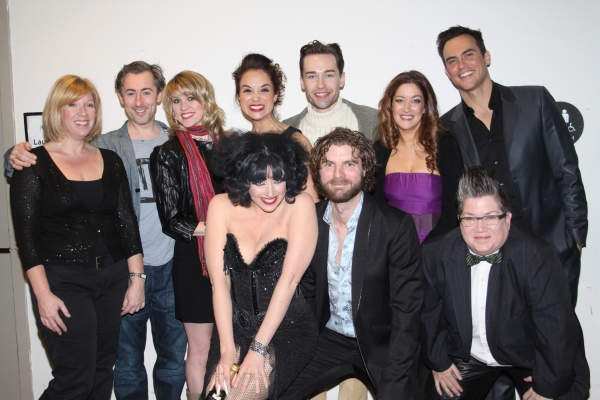 Daisy Prince, Alan Cumming, Lauren Kennedy, Alexandra Silber, Paul Spicer, Julie Atherton, Cheyenne Jackson, Meow Meow, Lance Horne and Lea DeLaria at LANCE HORNE: FIRST THINGS LAST at Lincoln Center