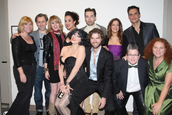 Daisy Prince, Alan Cumming, Lauren Kennedy, Alexandra Silber, Paul Spicer, Julie Atherton, Cheyenne Jackson, Meow Meow, Lance Horne, Lea DeLaria and Janette Mason