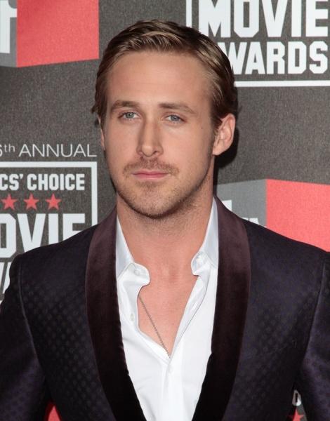 Ryan Gosling at The 16th Annual Critics Choice Awards
