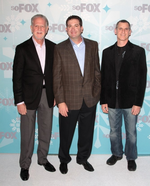 David Zuckerman, Paul Frank, Rich Frank at GLEE Cast at Fox All Star Party!