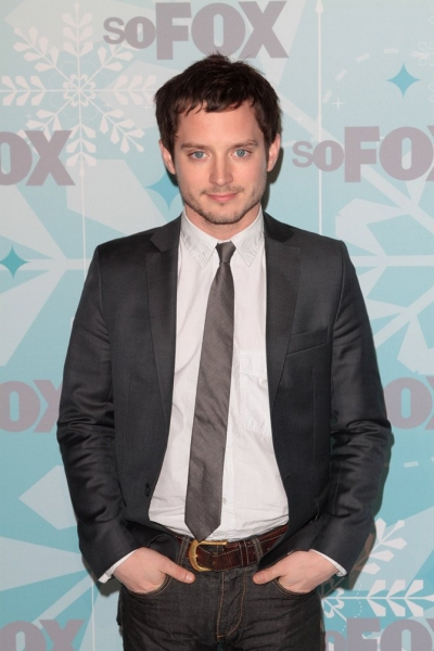 Elijah Wood at GLEE Cast at Fox All Star Party!