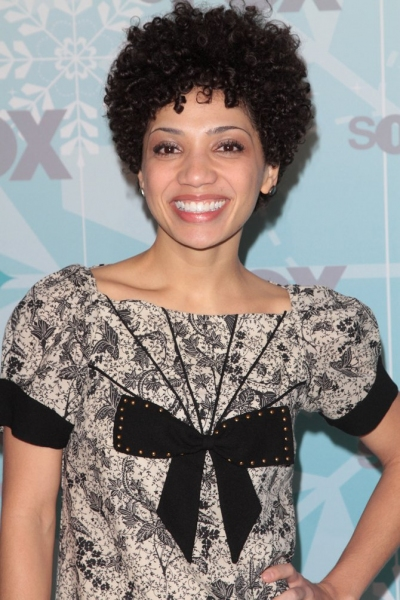 Jasika Nicole at GLEE Cast at Fox All Star Party!