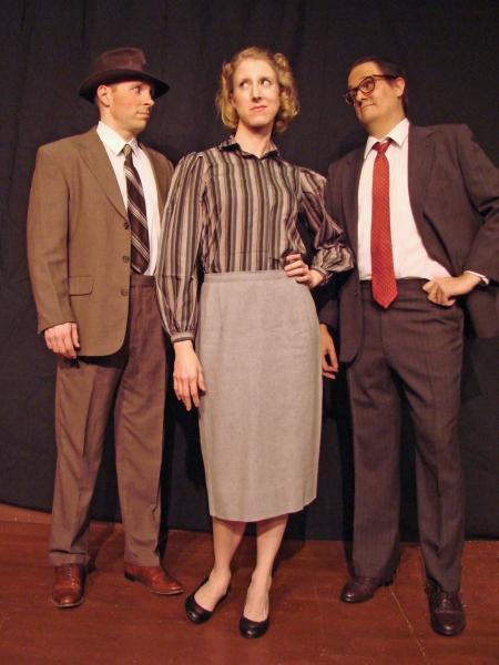 Dave Lemrise, Allison McGrath & Jeff Gamlin             Photo