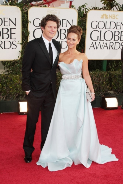 Jennifer Love Hewitt and Alex Beh pictured at the 68th Annual Golden Globe Awards held at The Beverly Hilton hotel in Beverly Hills, California on January 16, 2011.  � RD / Orchon / Retna Digital.