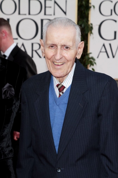 Jack Kevorkian pictured at the 68th Annual Golden Globe Awards held at The Beverly Hilton hotel in Beverly Hills, California on January 16, 2011.  � RD / Orchon / Retna Digital.