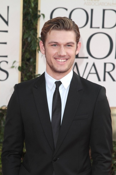Alex Pettyfer pictured at the 68th Annual Golden Globe Awards held at The Beverly Hil Photo