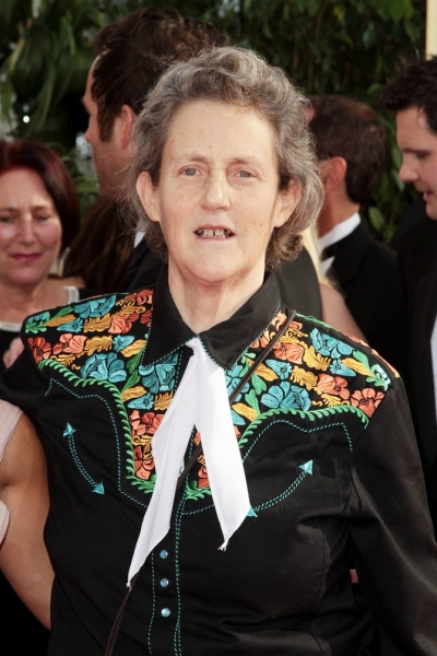 Temple Grandin pictured at the 68th Annual Golden Globe Awards held at The Beverly Hi Photo