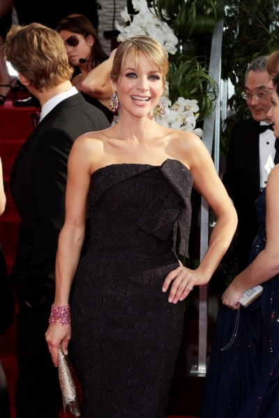 Jessalyn Gilsig pictured at the 68th Annual Golden Globe Awards held at The Beverly Hilton hotel in Beverly Hills, California on January 16, 2011.  � RD / Orchon / Retna Digital.